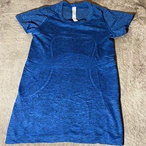 LULULEMON Swiftly Tech Short Sleeve Dark Blue